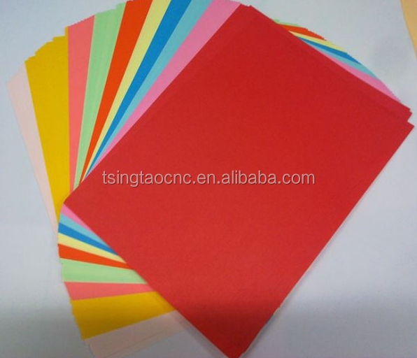 Wholesale office colored copy printing A4 Paper