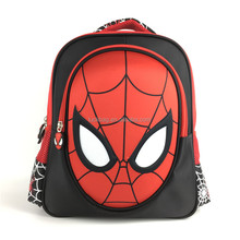 High Quality Spider Man Backpack School Bag for Teenagers with Low Price
