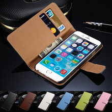 Retro PU leather mobile case for iphone 6 6s 7 7s Wallet 2 card holder flip Wallet cover case For samsung S3 S4 S5 S6 S7 edge