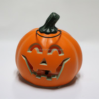 Security New Products LED Lighted Plastic Halloween Pumpkin Buckets