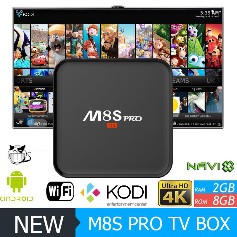 S905 TV Box M8S pro 1G/8G Android 5.1 arabic iptv Google Android 5.1 Smart Tv Box