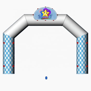 5x4.3m freestanding inflatable racing run arch for event