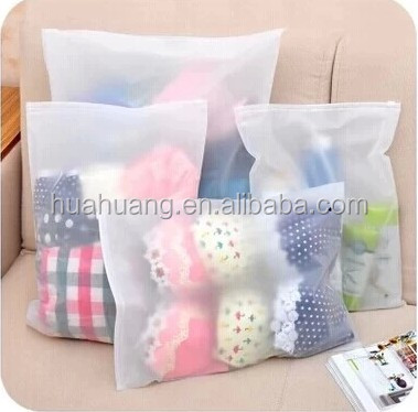 Women's underwear special for printing plastic zip lock gament bags