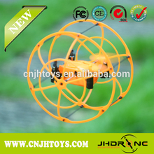 2.4G 6-Axis Mini RC Flying UFO Sky Walker Wall Climbing UFO with Auto-demonstration Flying and Auto-recycling