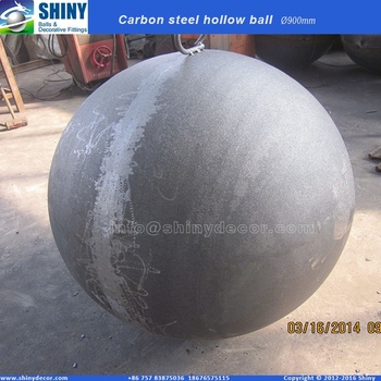 900mm carbon steel hollow ball fire pit