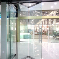 Movable Glass Wall For Office Meeting