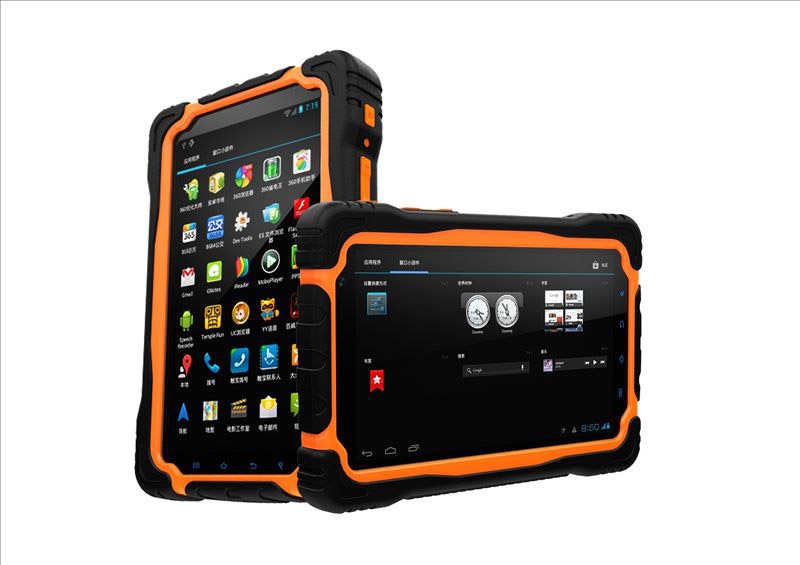 7 inch IPS Touch Screen Android Military Industry T70H IP67 Rugged Tablet