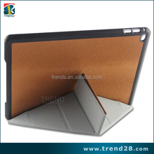 wholesales portable folding leather case for ipad Air2 tablet