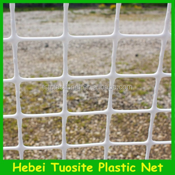 100% New HDPE white plastic fencing mesh