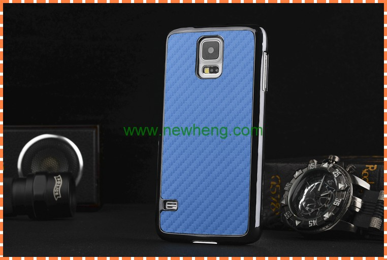 carbon fiber case for samsung galaxy s5 mini, fancy cover for samsung s5 mini