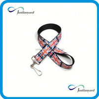 Customized colorful ball-point pen lanyard for id badge