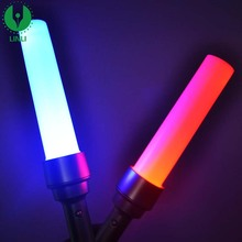 Factory Custom Cheap Party Event RGB Led flashing Retractable Stick, Led Cheering Stick, Glow Stick