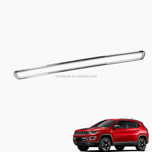 ABS Chrome For JEEP Compass 2017 Trunk Lid Tailgate Moulding Trim Exterior Accessories 1Pcs