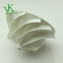 Precision injection moulding parts, auto used plastic impeller wheel, customized plastic molding