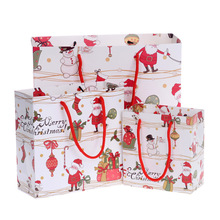 Food grade factory supplier promotion flat christmas sugar packaging small candy paper bag