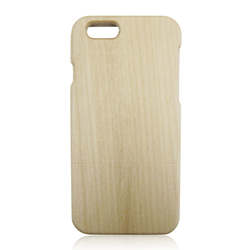 Natural wood phone cases maple wooden custom engraving mobile case for iphone 6