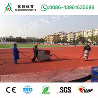 Polyurethane binder epdm granules/epdm flooring/rubber surface for running tracks