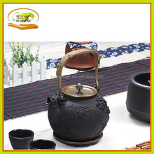 Old style Japanese cast iron teapot with copper handle, high quality teapot,Japanese tea kettle
