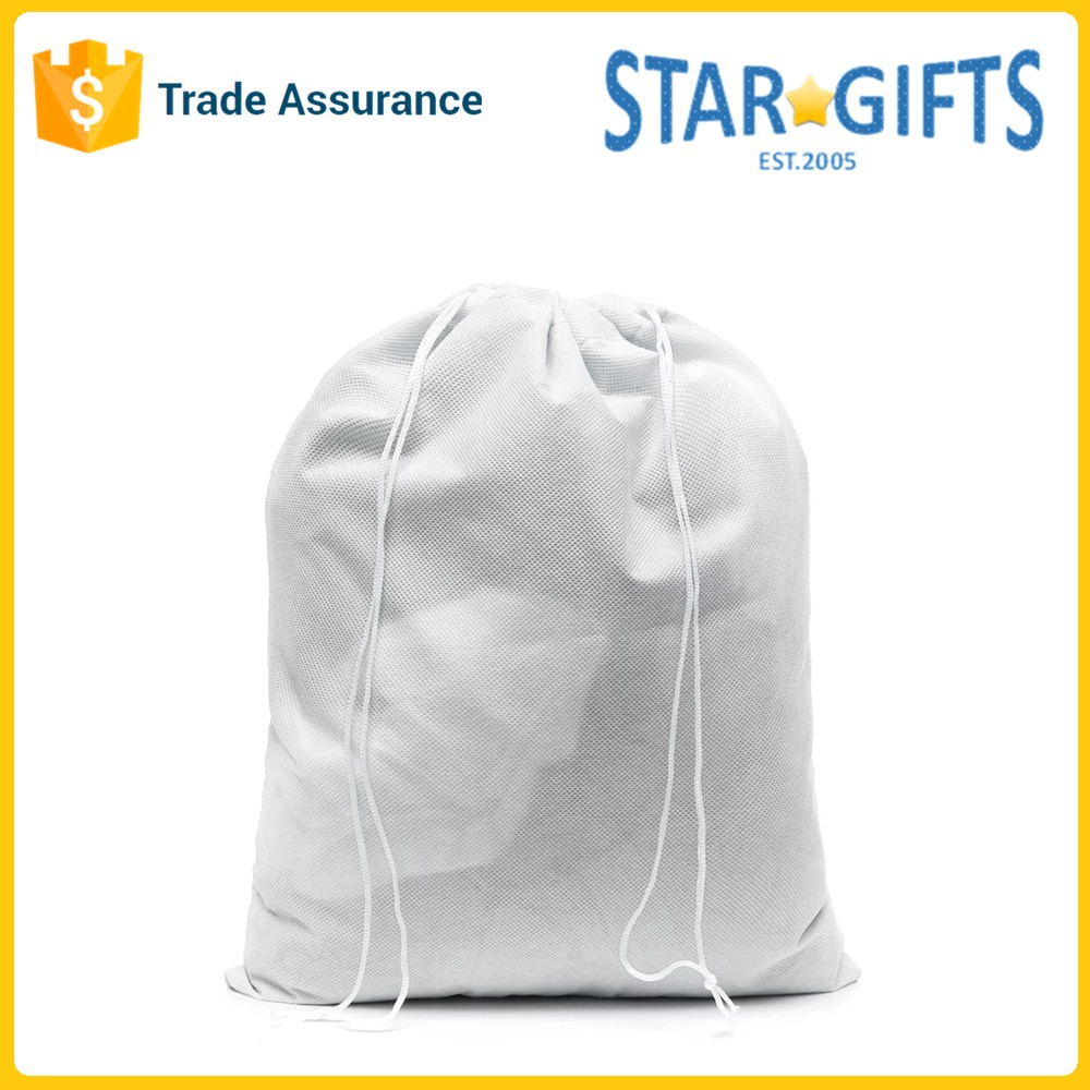 OEM Unisex Custom Foldable Breathable Non-Woven Dry Cleaning Laundry Bag