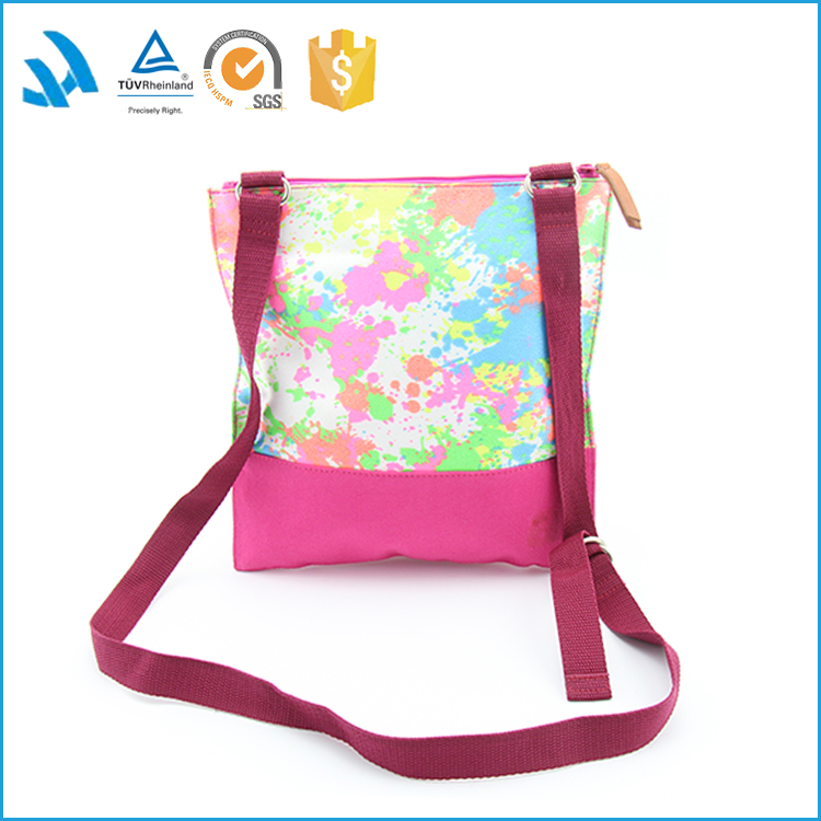 Sublimation Printing Blank Plain Canvas Shoulder Bag