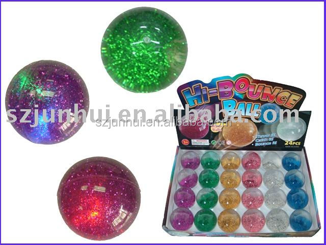 plastic hi-bouncing ball
