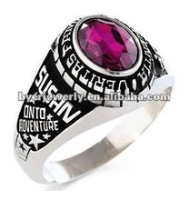 Special Designed Hot Selling Jostens girls class rings