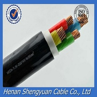 0.6/1 kv, low voltage flame retardant XLPE cable, low smoke halogen free/LSHF power cable