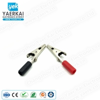Factory Directly copper plated battery clamp alligator clip Various uses