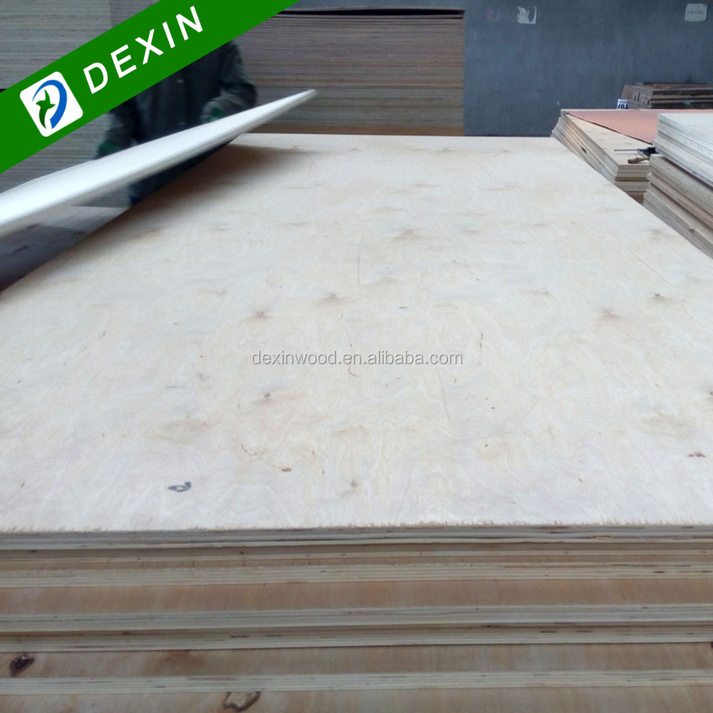 Low price e f grade birch plywood for packing or low grade for Birch wood cost