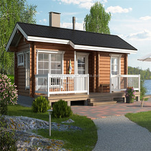 EY wood house Modular Flat-pack Economic Prefabricated Wood Houses For Living