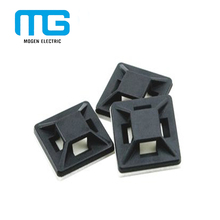 Plastic Cable Tie Mounts/Cable Tie Holder/Self adhesive Tie Mount