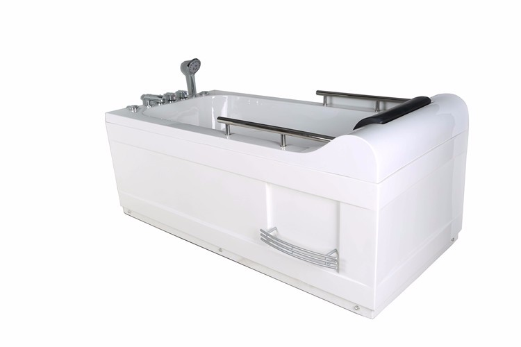 AJL-8205 Unique Design Whirlpool Massage Small Corner Bathtub