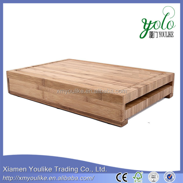 Eco-friendly Antimicrobial Bamboo Knife Holder Cutting board holder