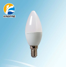 Powerful Dimmable E12 E14 E17 B15 5W led candle bulb light, led candle bulb, led candle