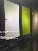 E1/E2/E0 PET acrylic mdf /high gloss mdf panel/acrylic mdf board