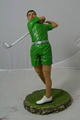 golf player figure, custom made golf player figure toy