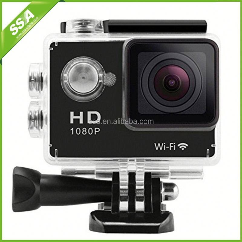 2016 Latest Wifi Full HD 1080P Professional Outdoor Extrem Sport Action Camera Helmet Diving DV 30M Waterproof