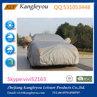 PEVA + PP cotton waterproof and UV Protection car frost protector car cover