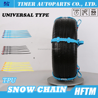 used tire parts Climbing/sand/mud chain Universal type Re-Usable ice chains