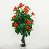 Indoor Artificial Flower Tree Artificial Plant Wholesale Room Decorative Plant