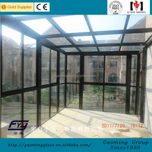 China Safety Insulated Glass Panels Sunroom Roof