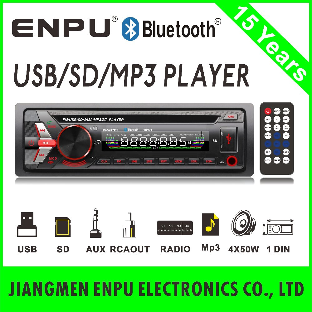 Bluetooth Car MP4 Player with FM Modulator Manual