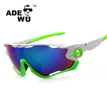 ADE WU 2016 summer cool fake costa del mar cycling sunglasses jawbreaker for unisex safety glasses