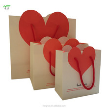 custom garments wedding favor shopping packing printed paper gift bag