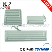 Infrared heat radiator heating element