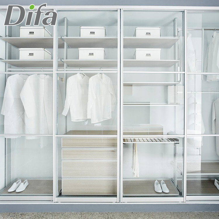 Custom Walk In Closet Wardrobe Modern,Simple Open Walk In Closet