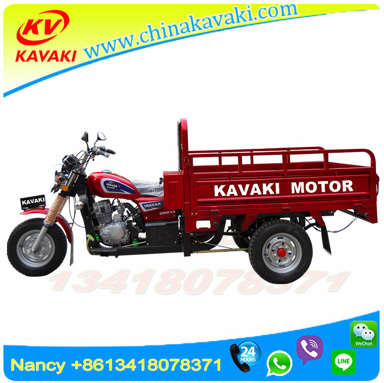 Motor Factory ISO9000 CCC OEM Motorized Tricycle Tuk Tuk Cargo Chassis 3 Wheel Trike/Petrol Motorcycle