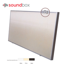 Interior Wall Decoration Fiberglass Cloth Sound Absorbing Ceiling For Gym