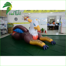 Large Animal Customized Mascot Inflatable Griffin Toy / PVC Funny Pool Toy Inflatable Bald Eagle