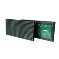 p10-1g outdoor led display module green color led board for led messge